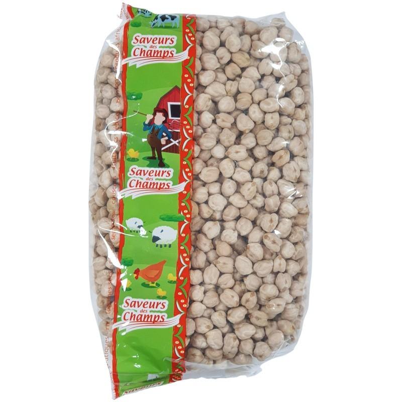 Pois chiches gros 1kg-Légumes secs-panierexpress