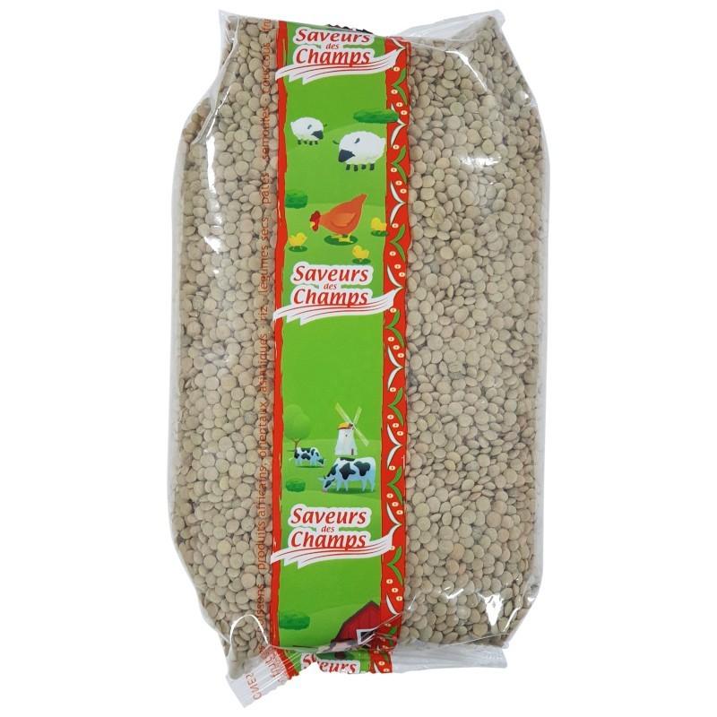 Lentilles blondes petite 1kg-Légumes secs-panierexpress