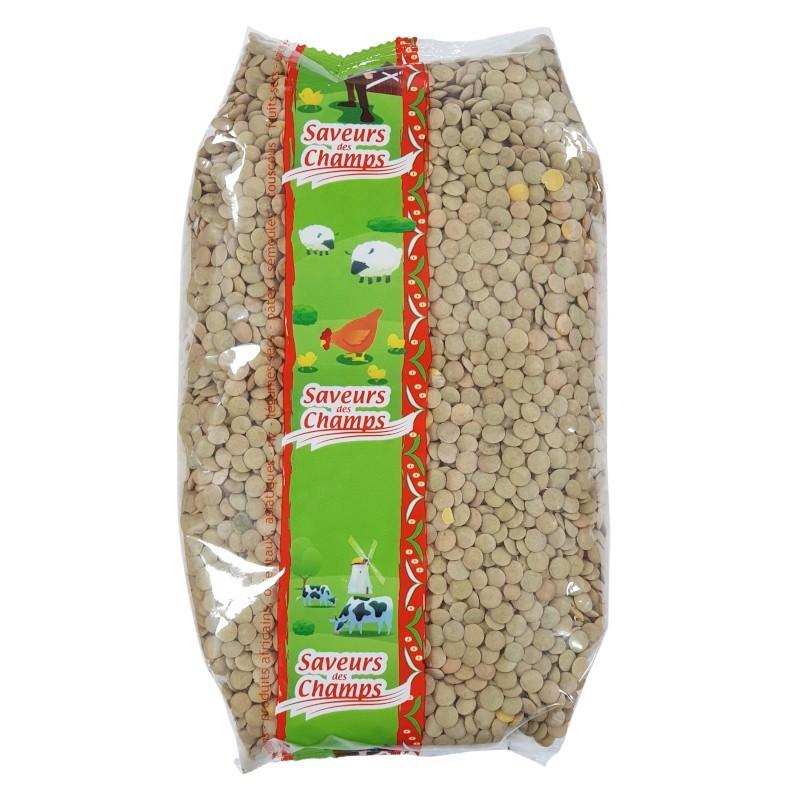 Lentilles blondes grande 1kg-Légumes secs-panierexpress