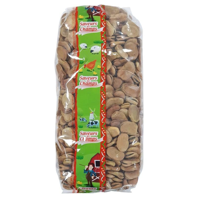 Fèves entières 1kg-Légumes secs-panierexpress