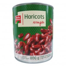 Haricots rouges 800g 4/4 BF