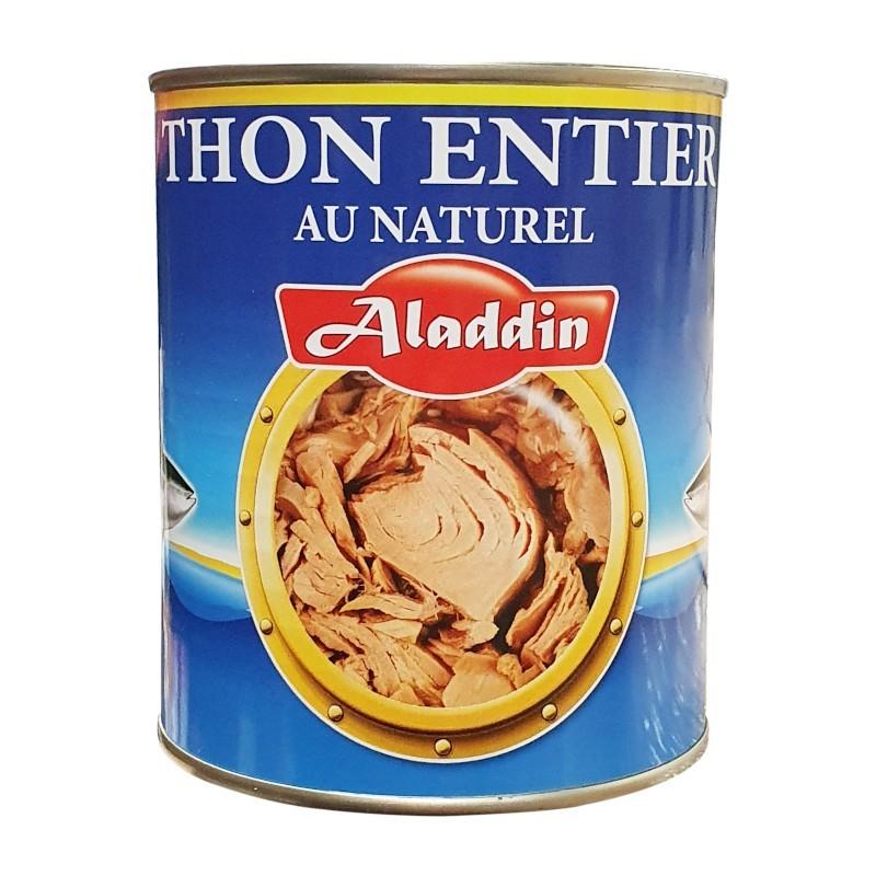 Thon entier naturel 800g 4/4 aladdin-Thons-panierexpress