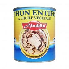 Thon entier a l'huile 800g 4/4 aladdin-Thons-panierexpress