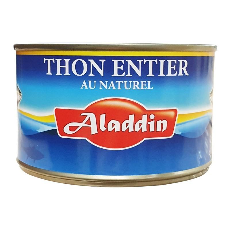 Thon entier naturel 400g 1/2 aladdin-Thons-panierexpress