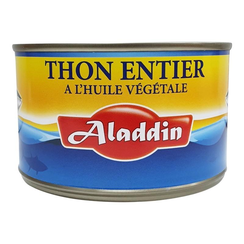 Thon entier à l'huile 400g 1/2 aladdin-Thons-panierexpress