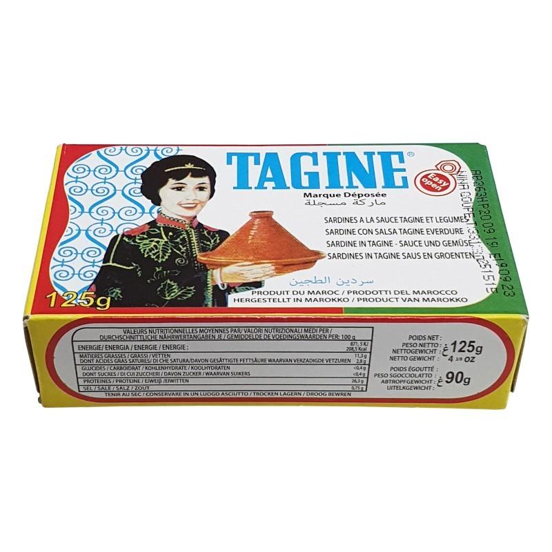 Sardine à la sauce tajine 125g-Sardines-panierexpress