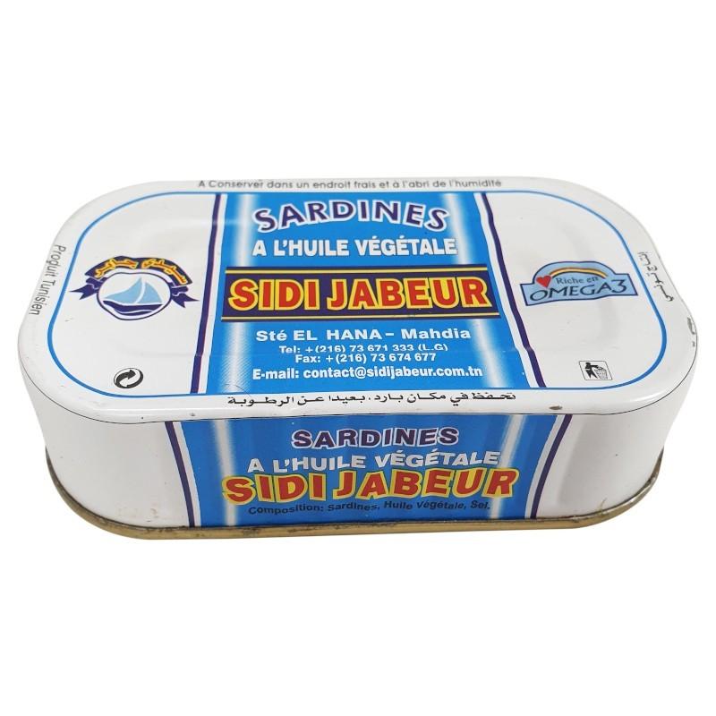 Sardine à l'huile 125g sidi jabeur-Sardines-panierexpress