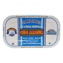 Sardine à l'huile 125g sidi...