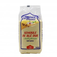 Semoule de blé fine 1kg saveurs des orients-Semoules et Couscous-panierexpress