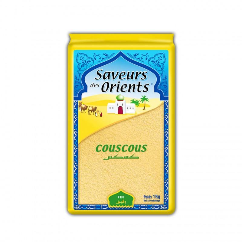 Couscous fin 1kg saveurs des orients-Semoules et Couscous-panierexpress