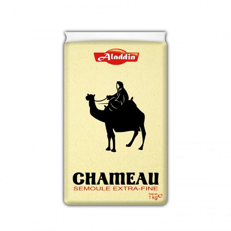 Semoule de blé extra-fine chameau 1kg-Semoules et Couscous-panierexpress