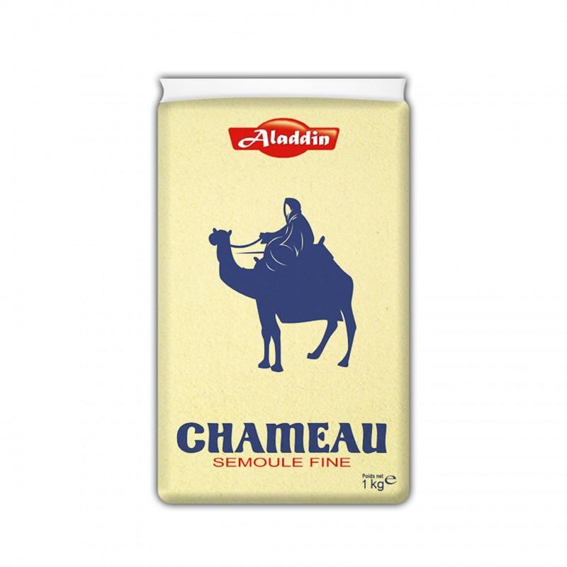 Semoule de blé extra fine chameau 1kg-Semoules et Couscous-panierexpress
