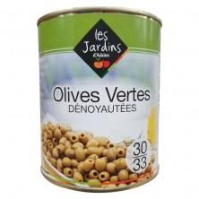 Olives vertes dénoyautées...