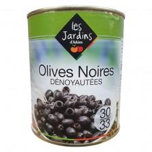Olives noires dénoyautées...