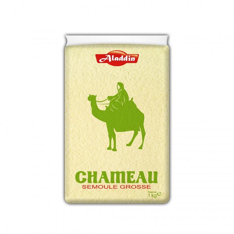 Semoule de blé grosse chameau 1kg-Semoules et Couscous-panierexpress