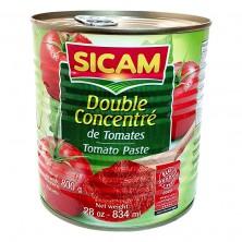 Double concentre de tomate...