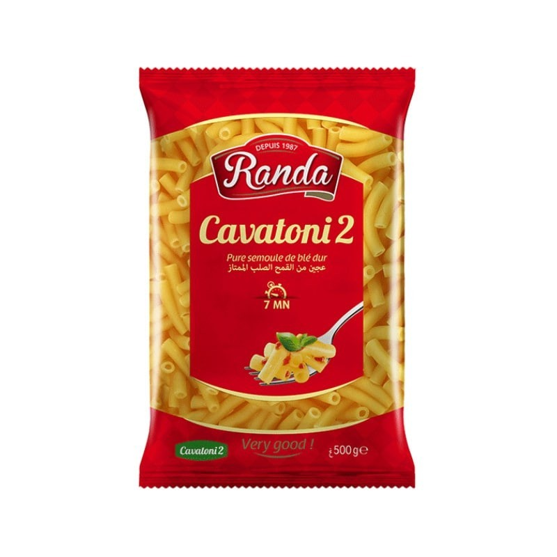 Cavatoni 2 500g randa-Pâtes et Nouilles-panierexpress