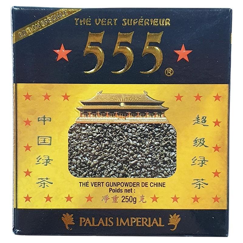 Thé vert gunpowder 555 200g-ÉPICERIE SUCRÉE-panierexpress