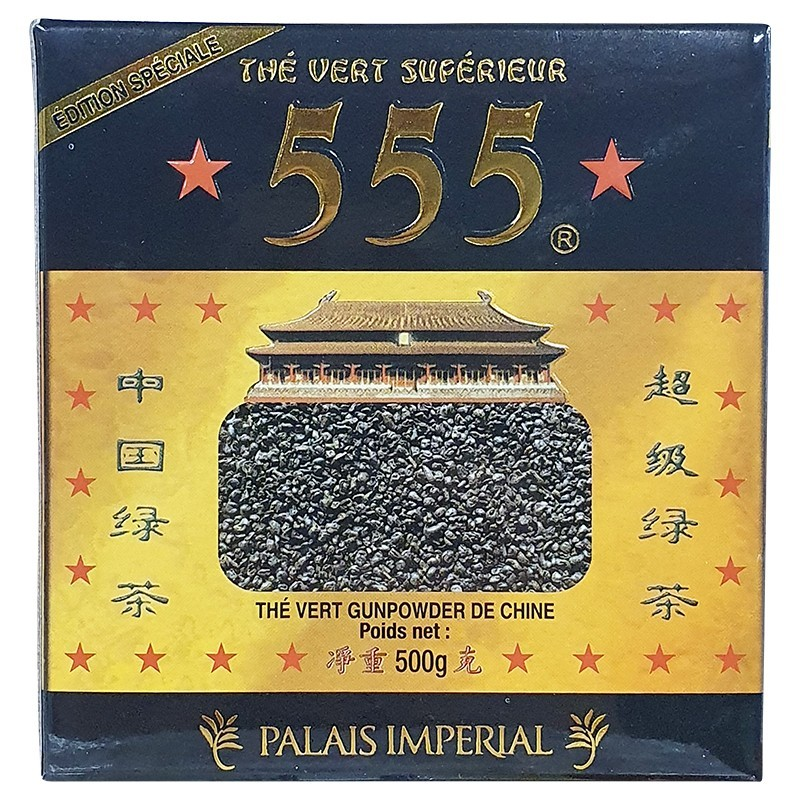 Thé vert gunpowder 555 500g-ÉPICERIE SUCRÉE-panierexpress