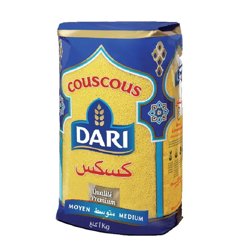 Couscous dari moyen 1kg-Semoules et Couscous-panierexpress
