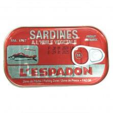 Sardines a l'huile 125g...