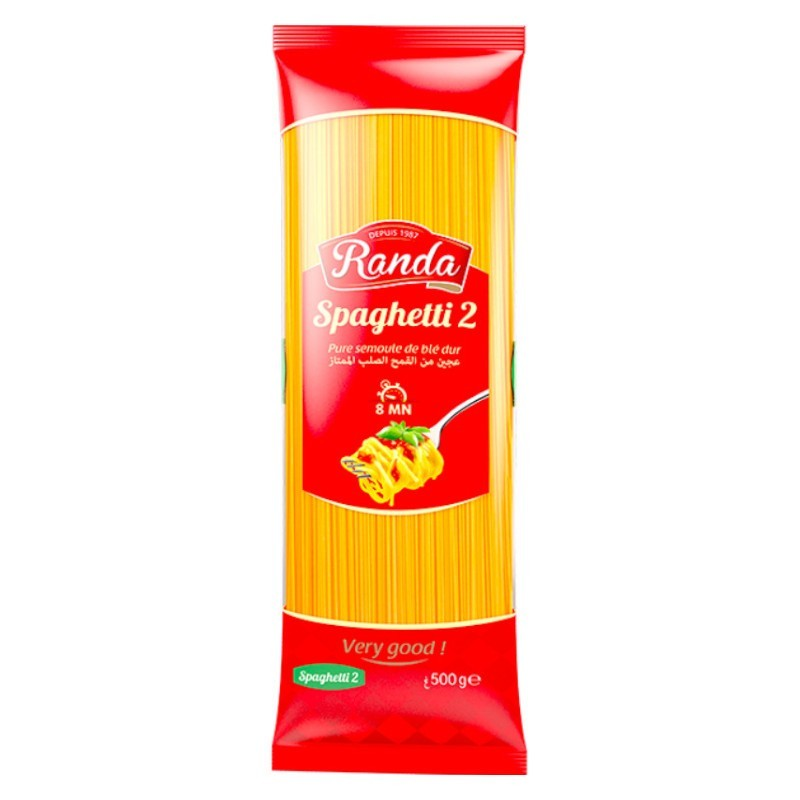 Spaghetti 2 500g randa-Pâtes et Nouilles-panierexpress