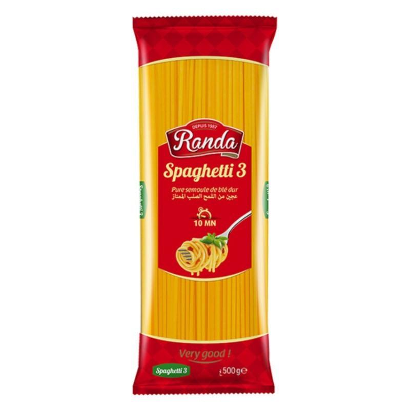 Spaghetti 3 500g randa-Pâtes et Nouilles-panierexpress