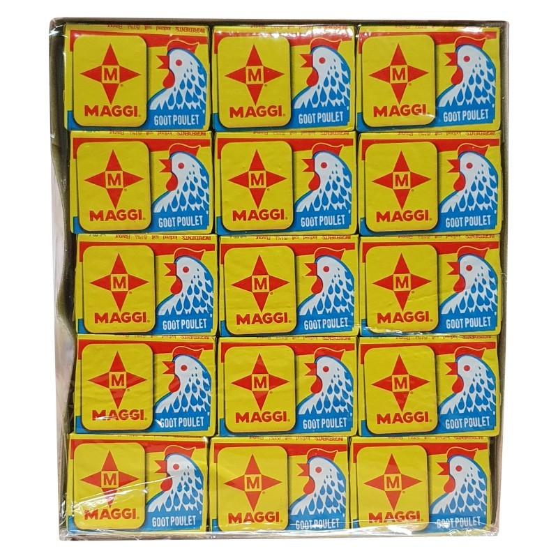 Cube poulet maggi étoile 60 x 10g-ÉPICERIE SALEE-panierexpress