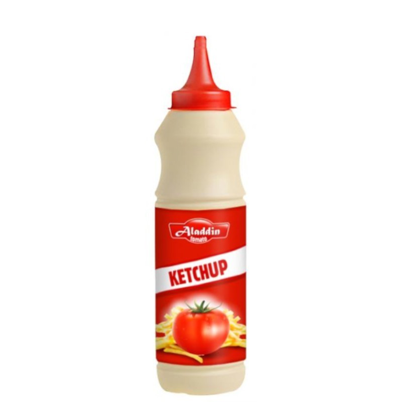 Sauce ketchup 500ml aladdin-Sauces et Condiments-panierexpress