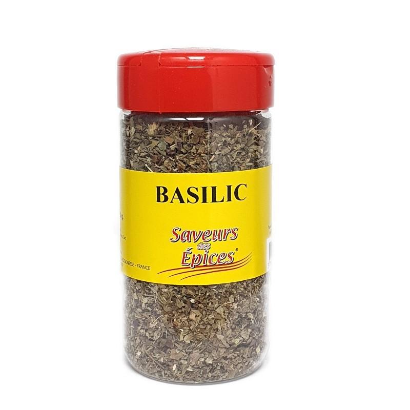 Basilic entier pot 60g-Epices sel & poivres-panierexpress