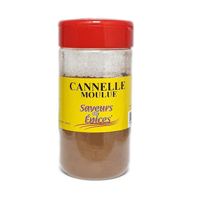 Cannelle moulue pot 110g-Epices sel & poivres-panierexpress