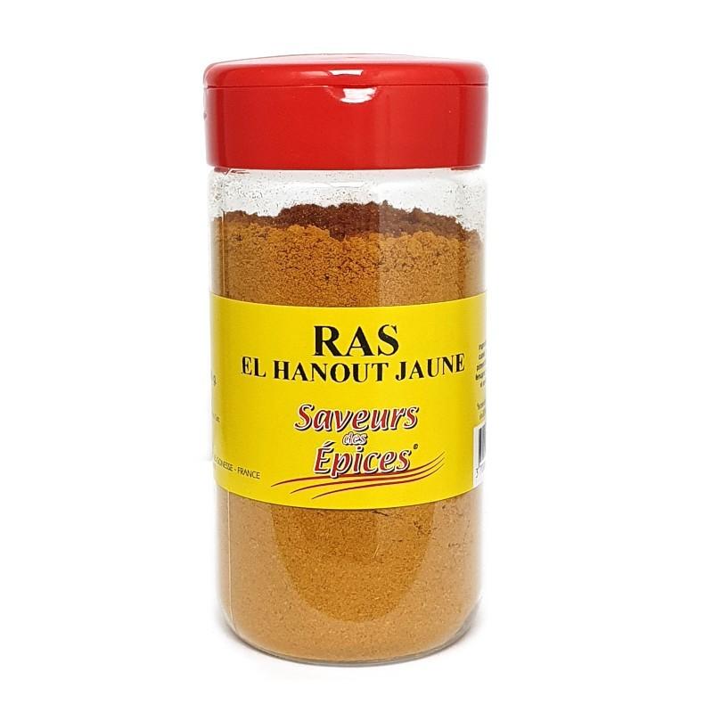 Ras el hanout jaune pot 180g-Epices sel & poivres-panierexpress