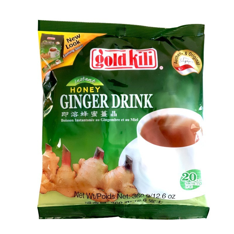 Infusion ginger drink gold kili 20 x 18g-THÉ ET INFUSIONS-panierexpress