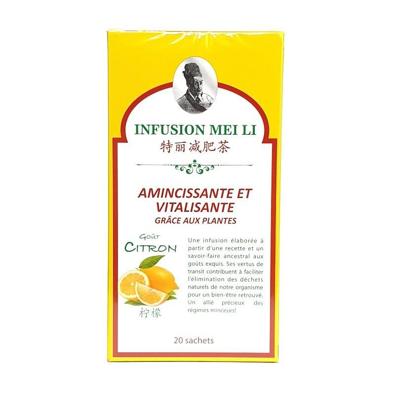 Infusion meili citron 20 sachets x 1.5g-THÉ ET INFUSIONS-panierexpress