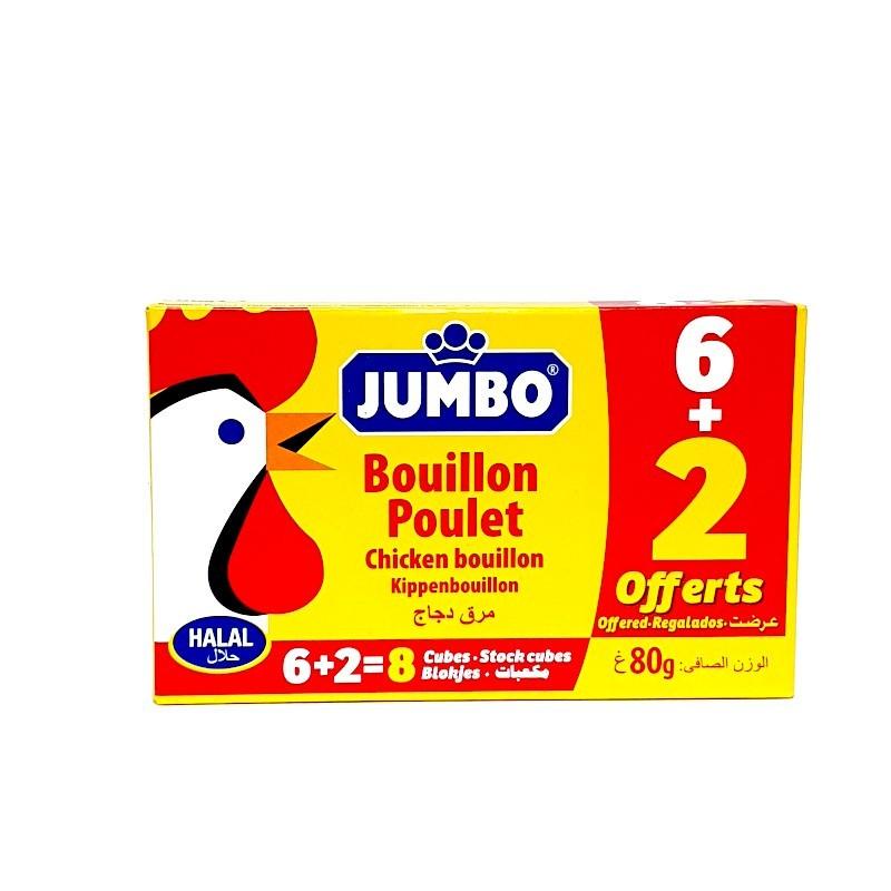 Tablette jumbo poulet 80g-Aide à la cuisine, bouillon-panierexpress