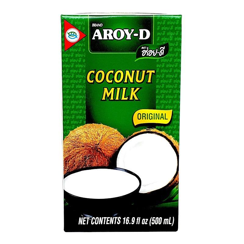 Lait de coco 500ml aroy-d-Lait et Crème de Coco-panierexpress