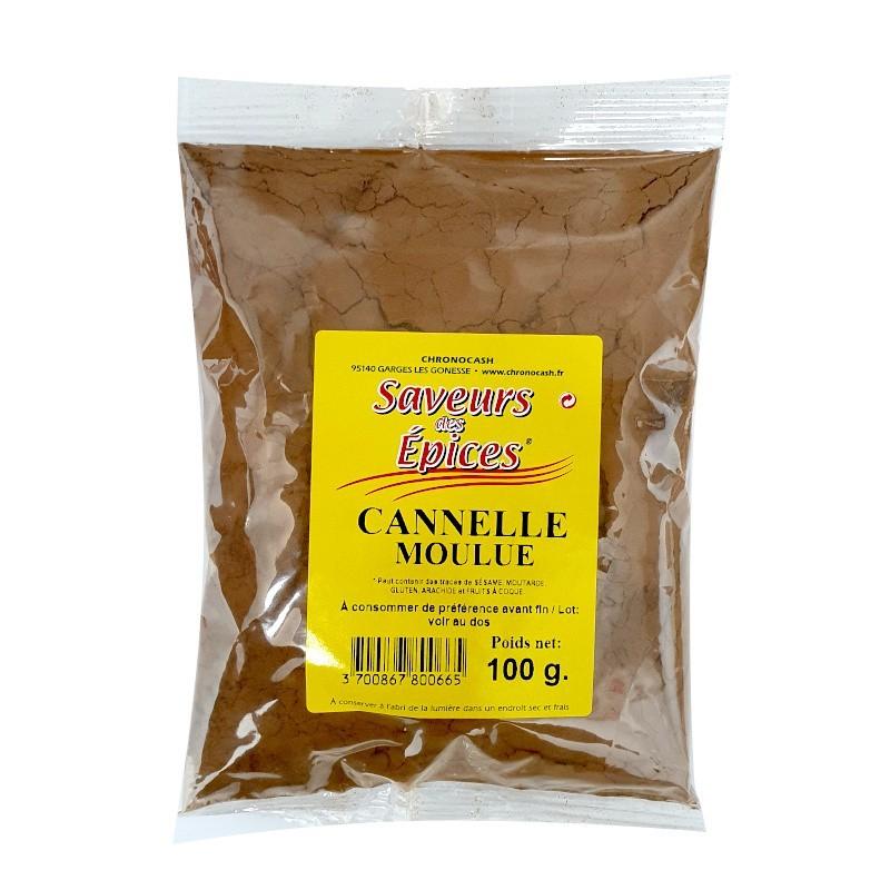 Cannelle moulue 100g-Epices sel & poivres-panierexpress