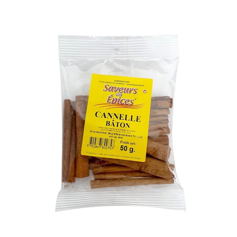 Cannelle bâton 50g-Epices sel & poivres-panierexpress