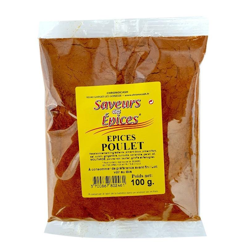 Epices poulet 100g-Epices sel & poivres-panierexpress
