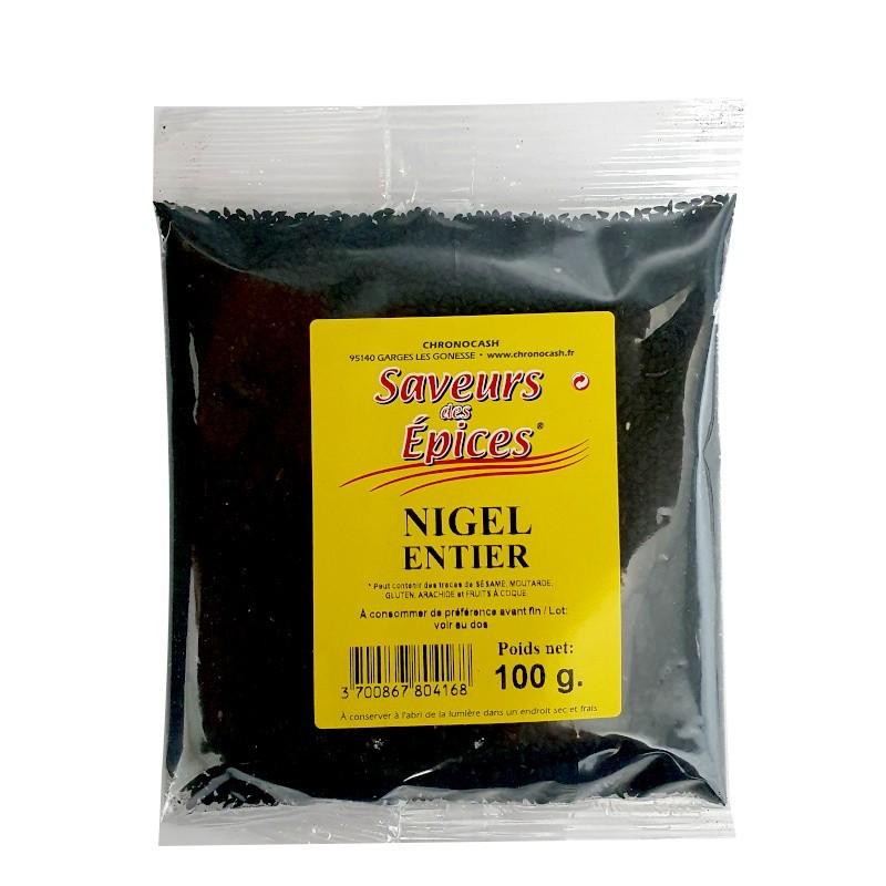 Nigelle entier 100g-Epices sel & poivres-panierexpress