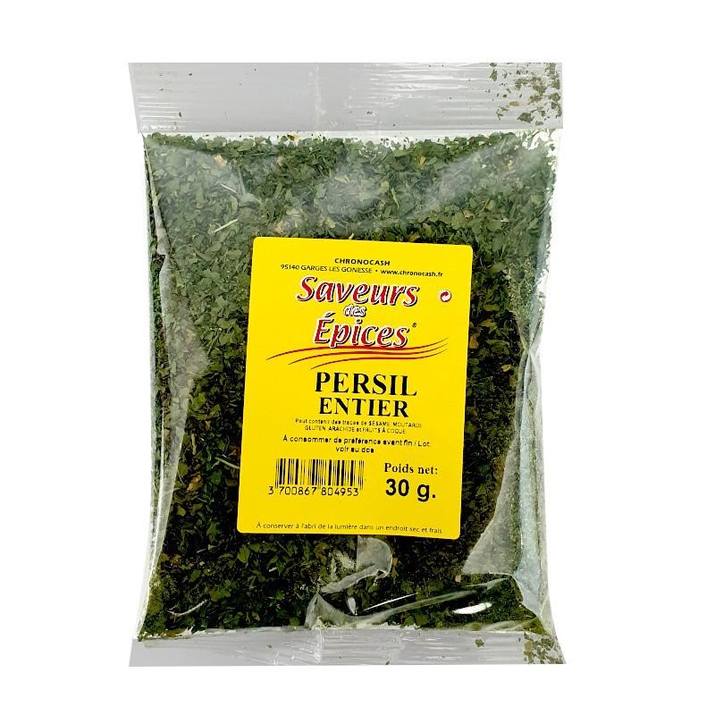 Persil entier 30g-Epices sel & poivres-panierexpress