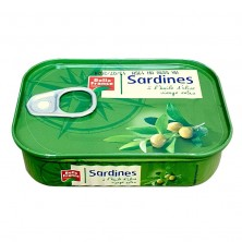 Sardine à l'huile d'olive...