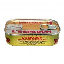 Sardines à l'huile pimentée...