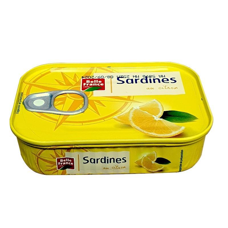 Sardine au citron 135g BF-Sardines-panierexpress